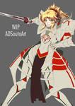 WIP Mordred Pendragon Armor Ver.