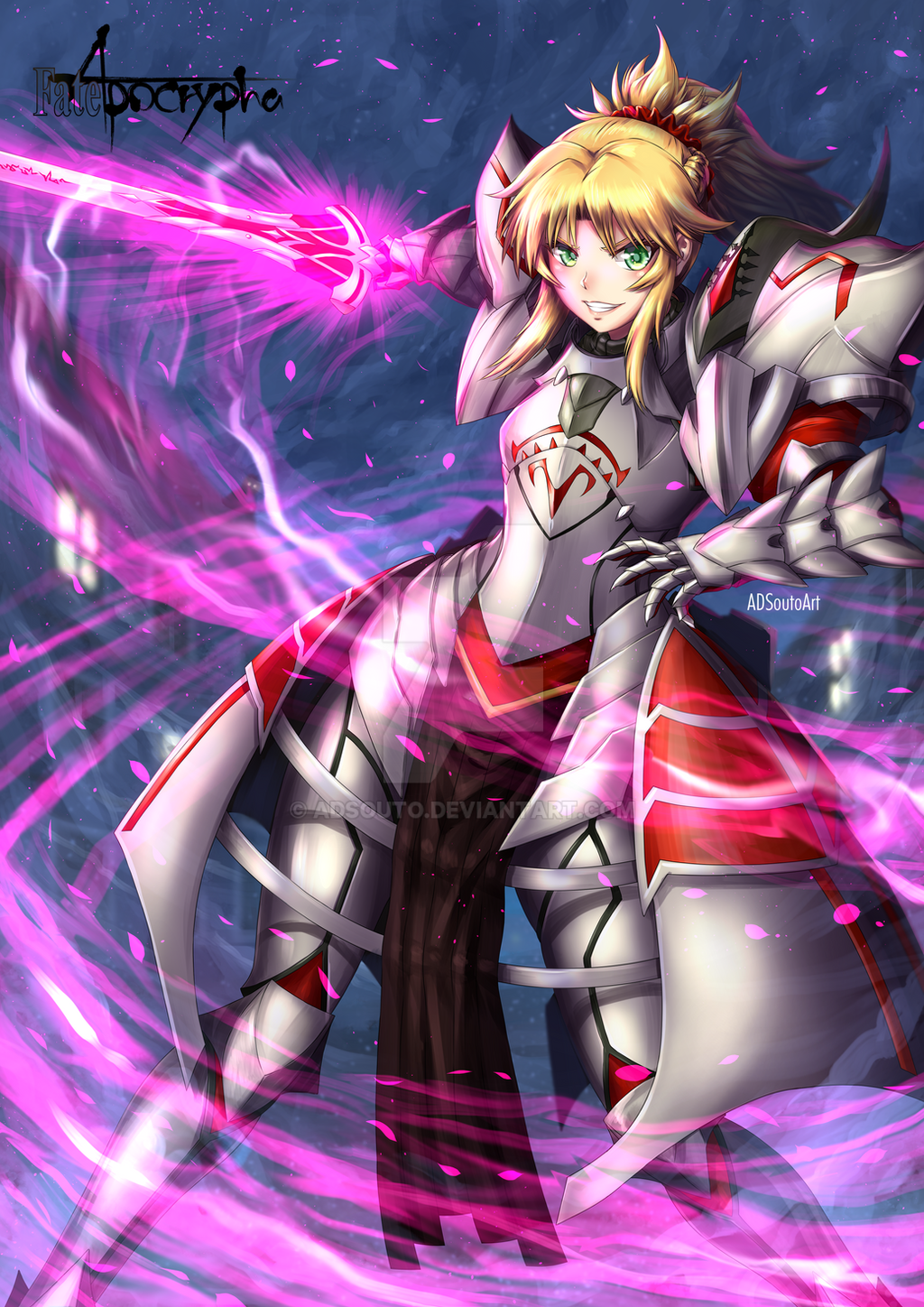 Mordred Armor by ADSouto