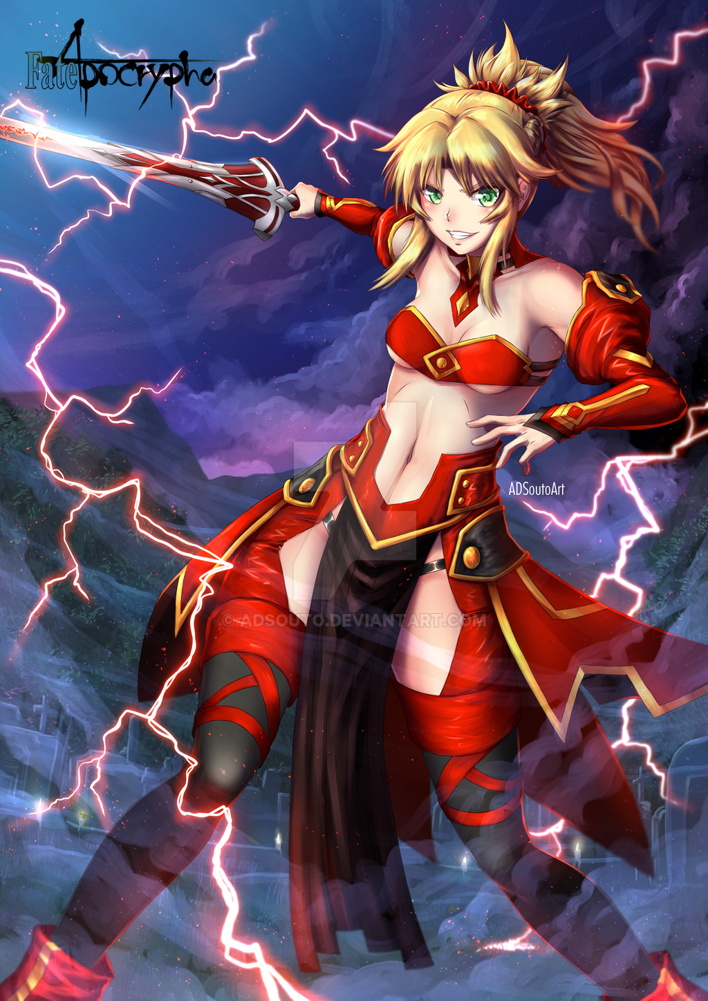 Mordred Suit by ADSouto