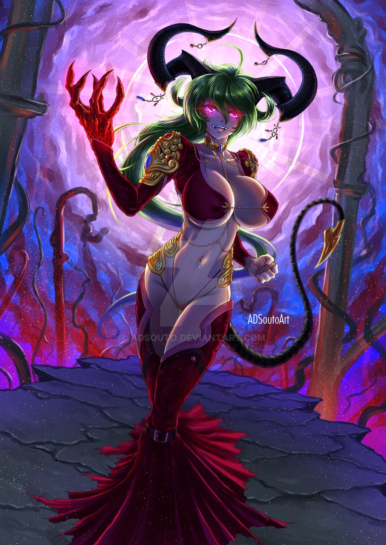 Satan Dominus of Wrath hr by ADSouto