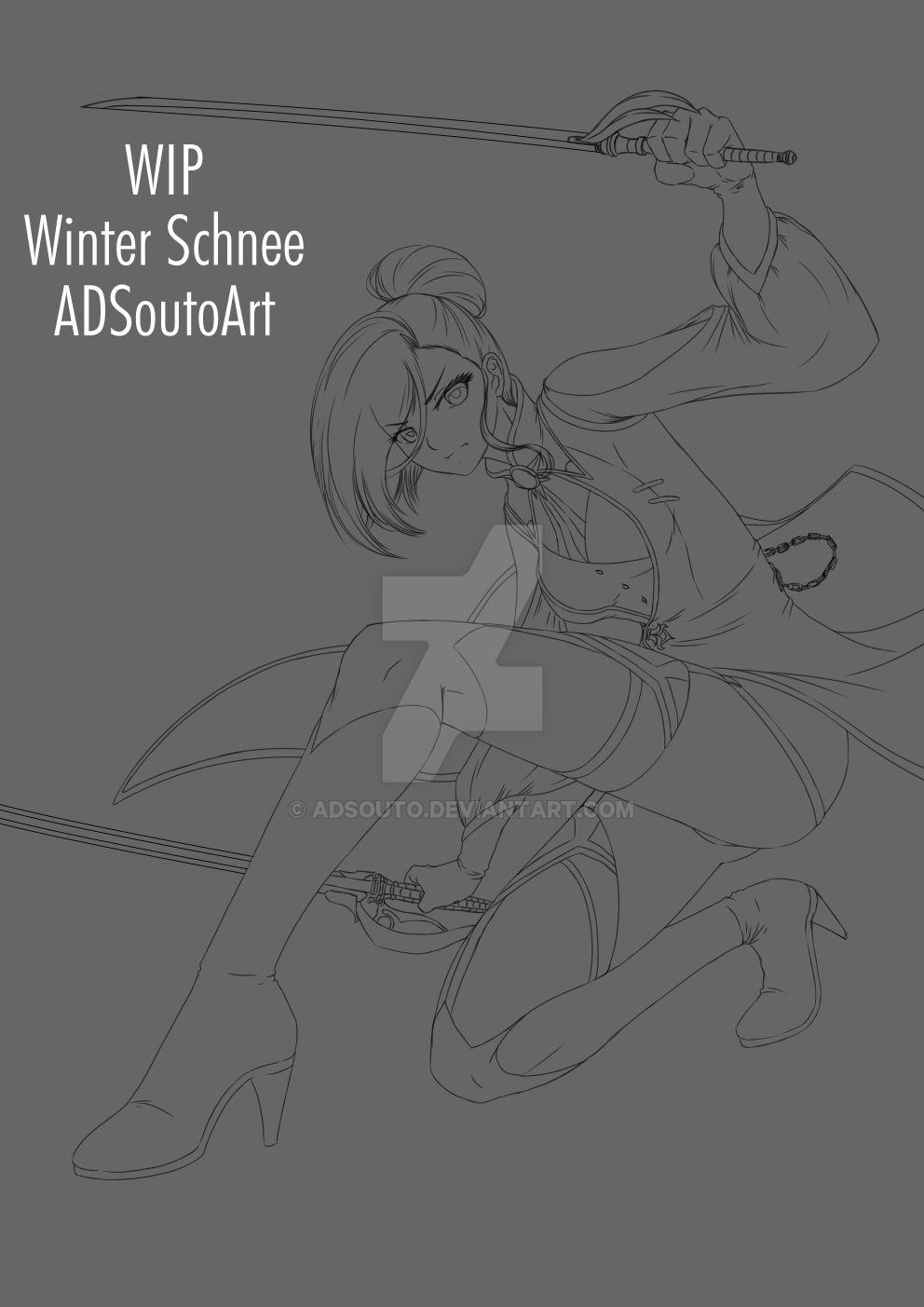 WIP Winter Schnee by ADSouto