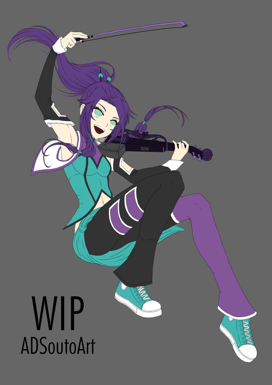 WIP Mana Drawn by ADSouto