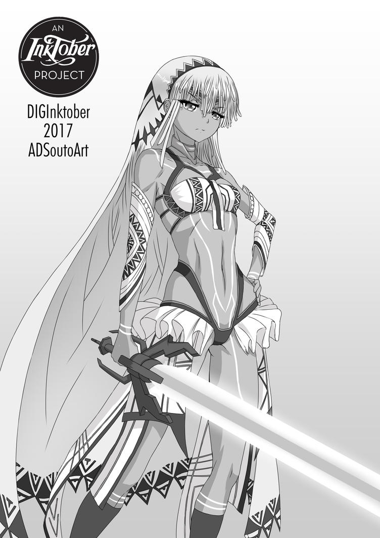 Saber: Attila by ADSouto