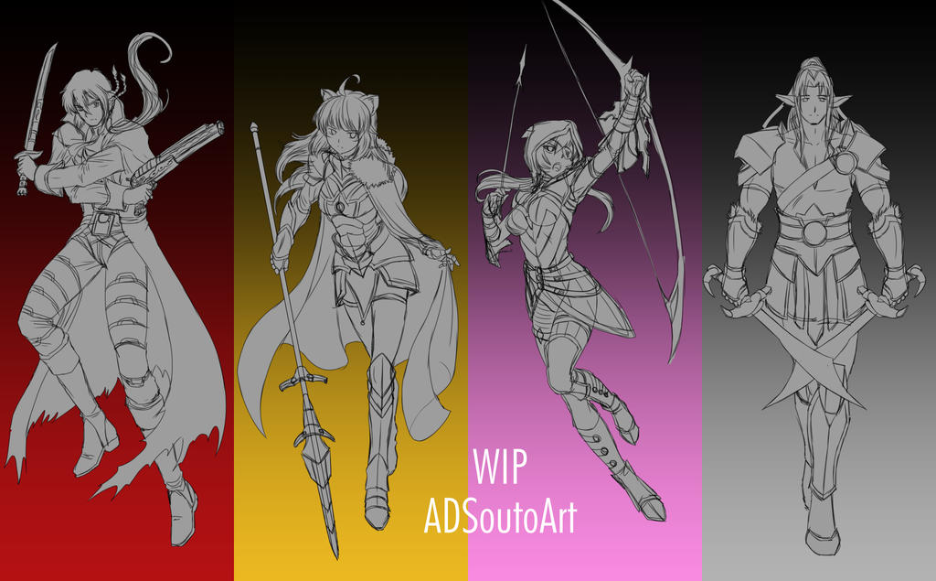 WIP Team MRLO by ADSouto