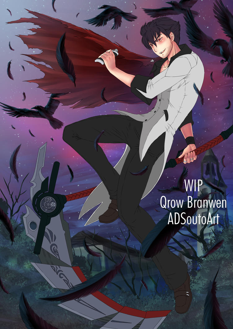 WIP: Qrow Branwen by ADSouto