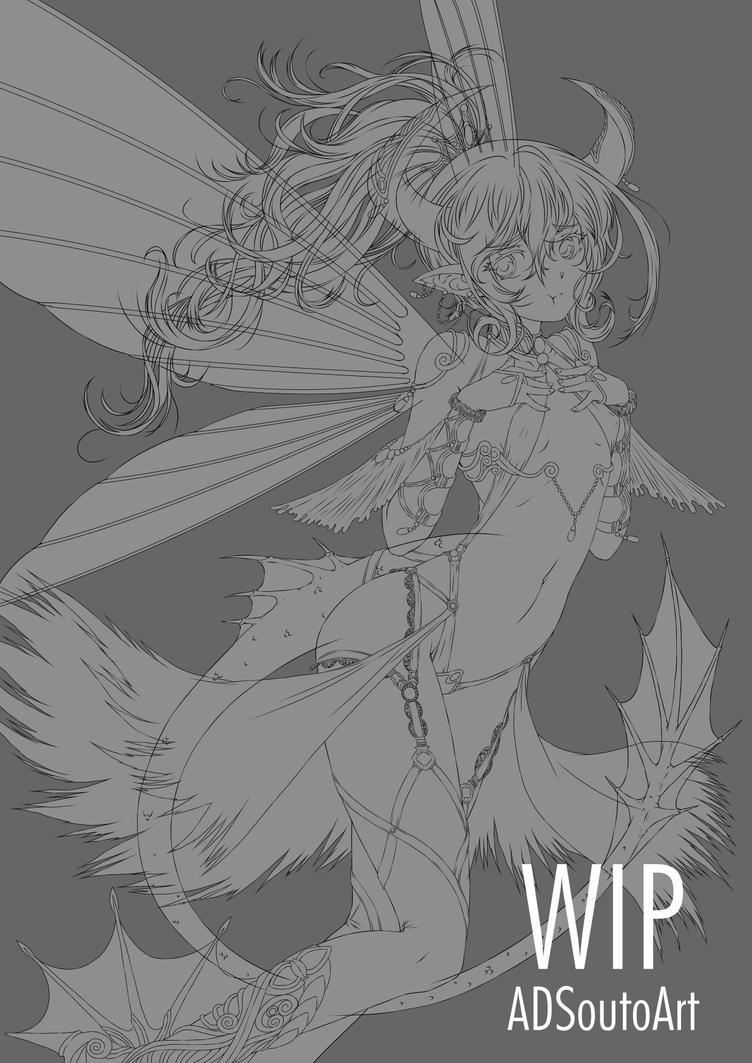 WIP - Leviathan Empress of Envy by ADSouto