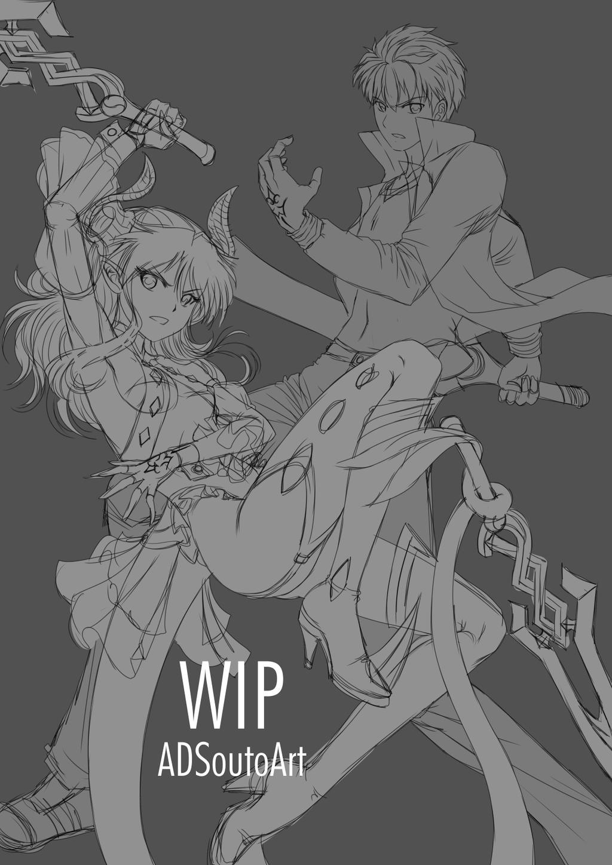 WIP - Shirouka X Shirou by ADSouto