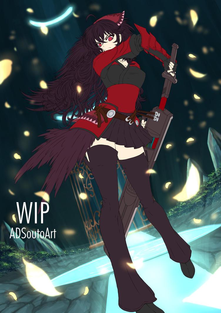 Raven Branwen Spring Maiden updated by ADSouto