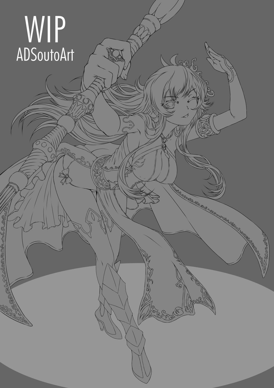 WIP - Kurumi by ADSouto