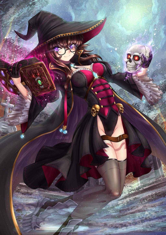 Luxella Oriyama, Necromancer by ADSouto