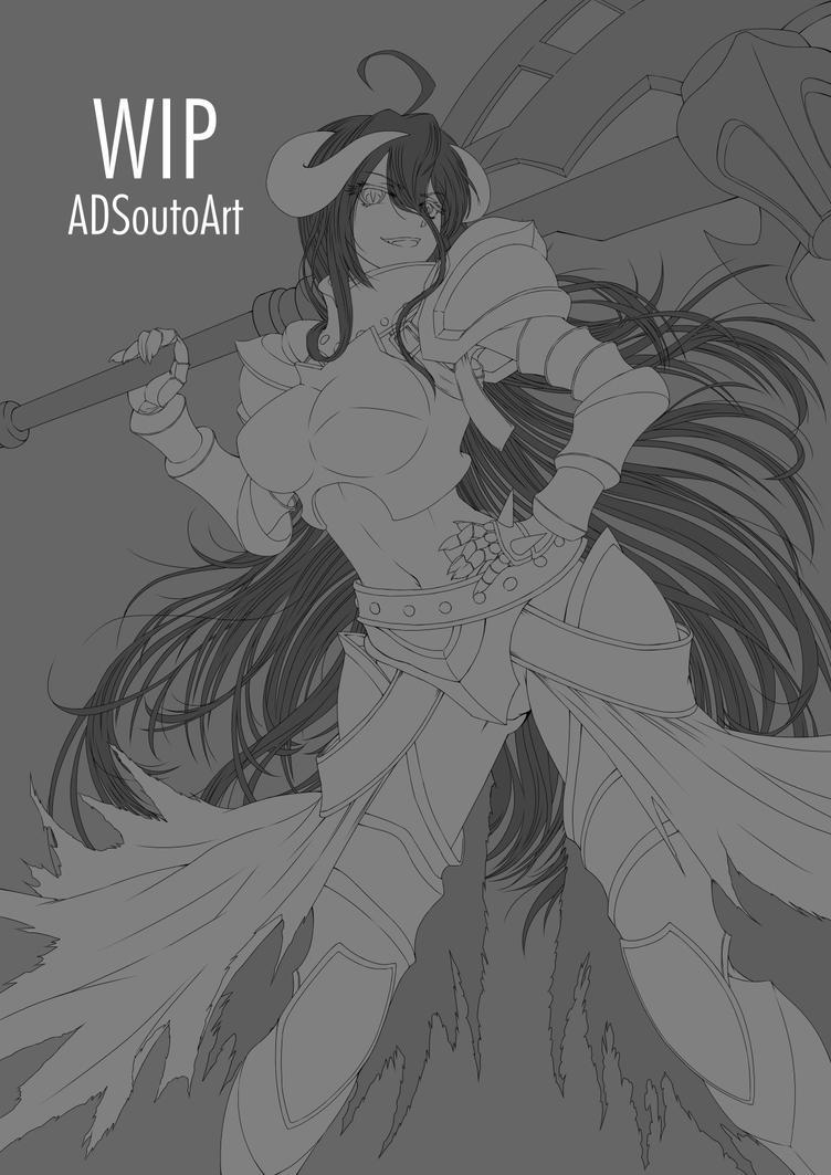 WIP - Albedo Guardian Overseer, Armor version by ADSouto