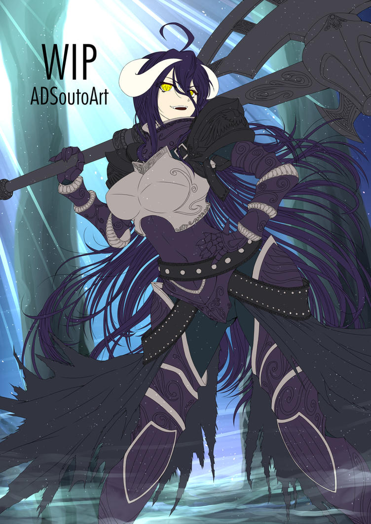 WIP - Albedo, Guardian Overseer by ADSouto