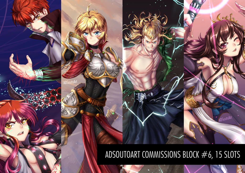 Commisions Block #6 by ADSouto