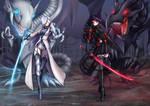 Winter X Raven, RWBY / Yugioh dragons
