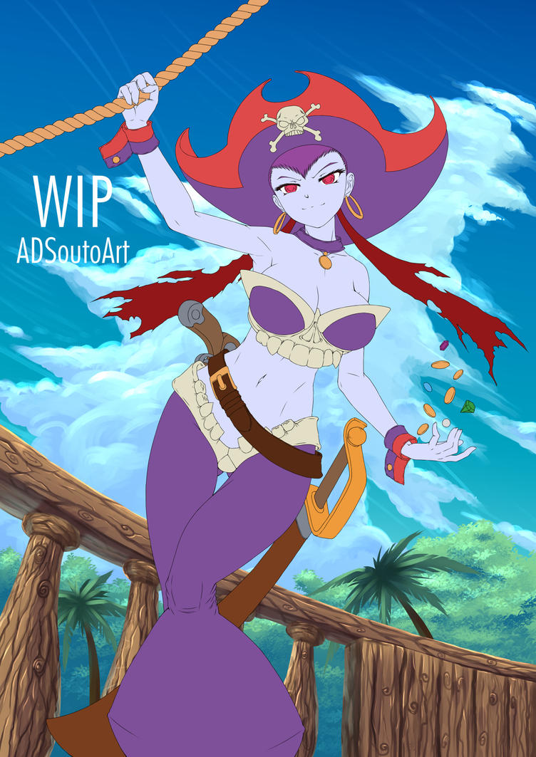 WIP - Risky Boots, Pirate Queen BG part 1 by ADSouto
