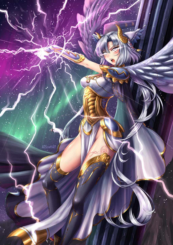 Vrantii, Thunder Goddess by ADSouto