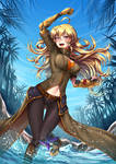Summer Time Yang - Battle Suit