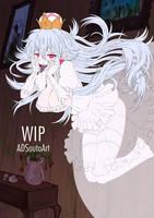 WIP - Boosette, Princess King Boo - BG by ADSouto