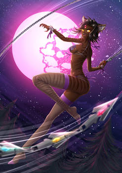 Sienna Khan Weretigress - undies by ADSouto