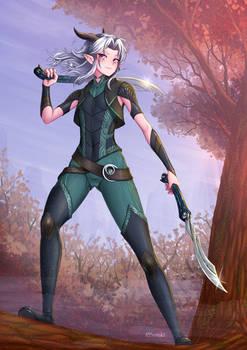 Rayla Shadowmoon Elf Assassin