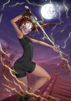 Ilia Amitola, Chameleon Spy - Battlesuit by ADSouto