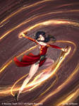 RWBY:CR - Flaming Swords