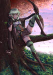 High Elf Archer Girl - Adventurer