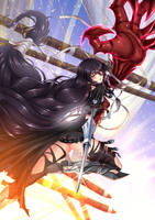 Velvet Crowe, Lord of Calamity / Battlesuit B by ADSouto