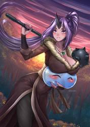 Shion and Rimuru - Ogre Wild suit