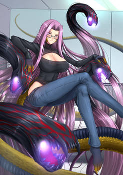 Gorgon, Fate/GO Avenger - Casual
