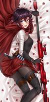 Ruby Rose Vol-7 / Dakimakura - Atlas suit