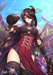 Beidou, Queen of the Crux Fleet / Genshin Impact
