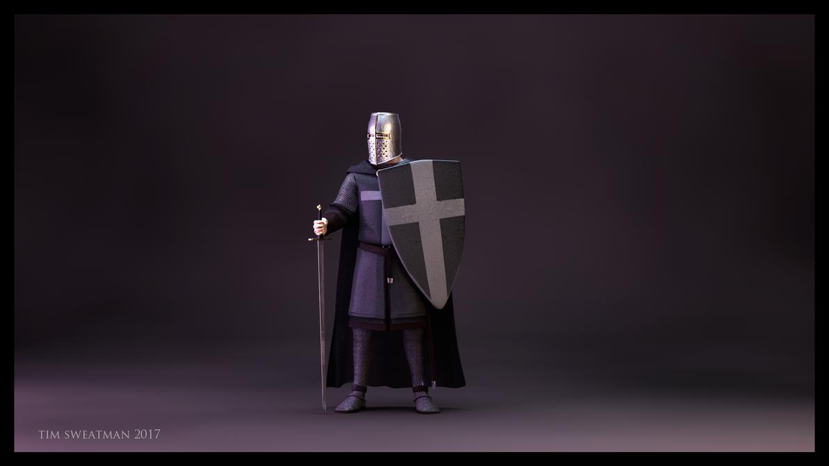 Crusader - Darker by haloband