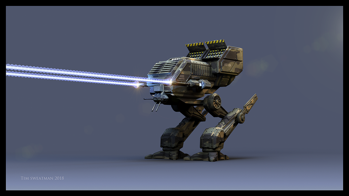 Mech by haloband