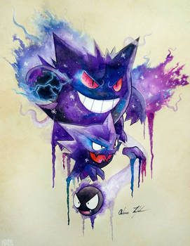 Gastly Evolutions