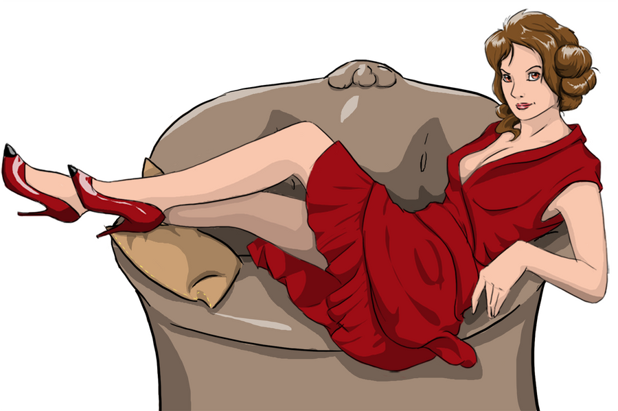 Galerie de Felicia Lady_red_by_liliebia-d5ohdtr