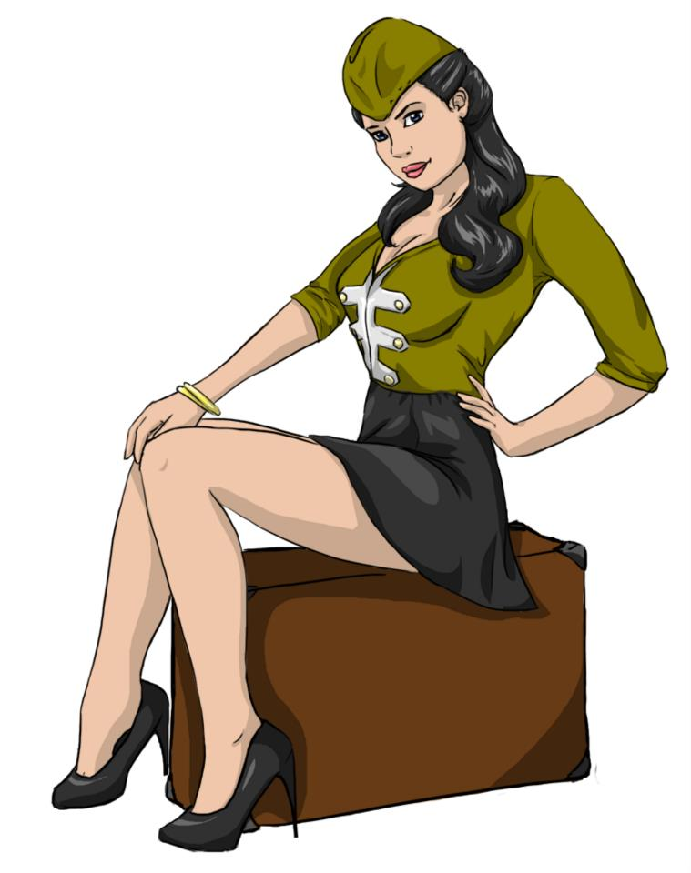 Galerie de Felicia Pin_up_militaire_by_liliebia-d5okq5p