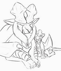 Lunastra and her daughter