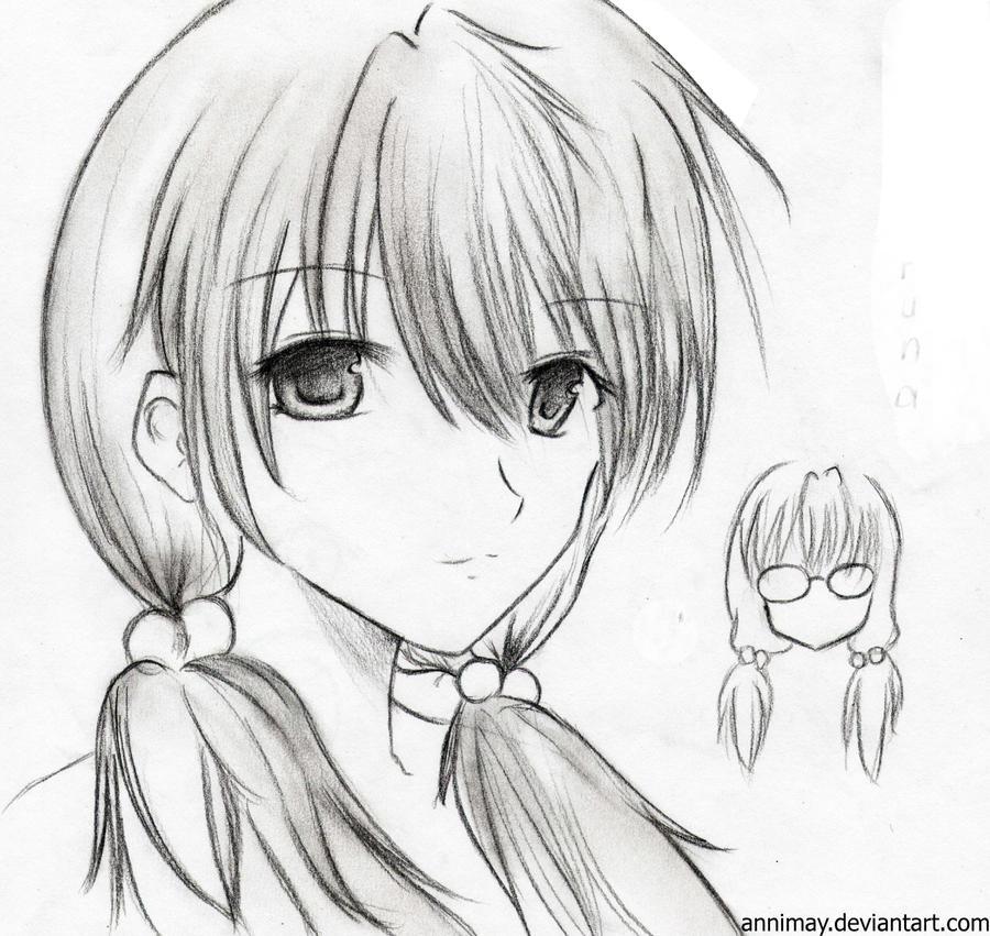 Haruna Amiyama-OC by Annimay