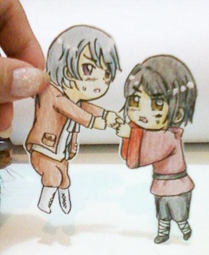 HongIce paper children by AsakuraHannahDA
