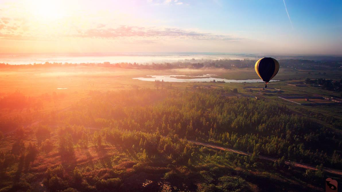 Morning Flight #1 (remastered) by dspiridonov