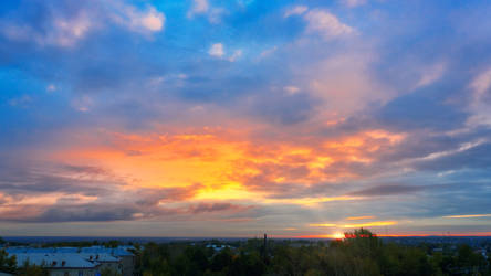 Provincial Sunset | 4k freebie