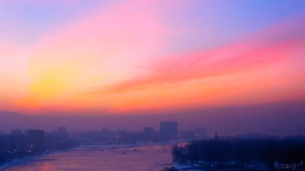 Siberian Sunset #3