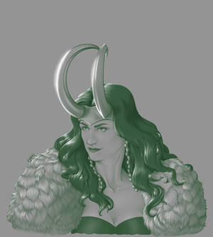 Lady Loki - Paints