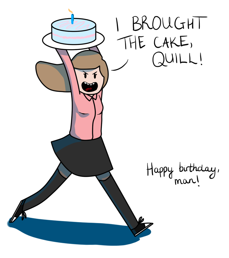 Happy Birthday, Quill! by LividToffee