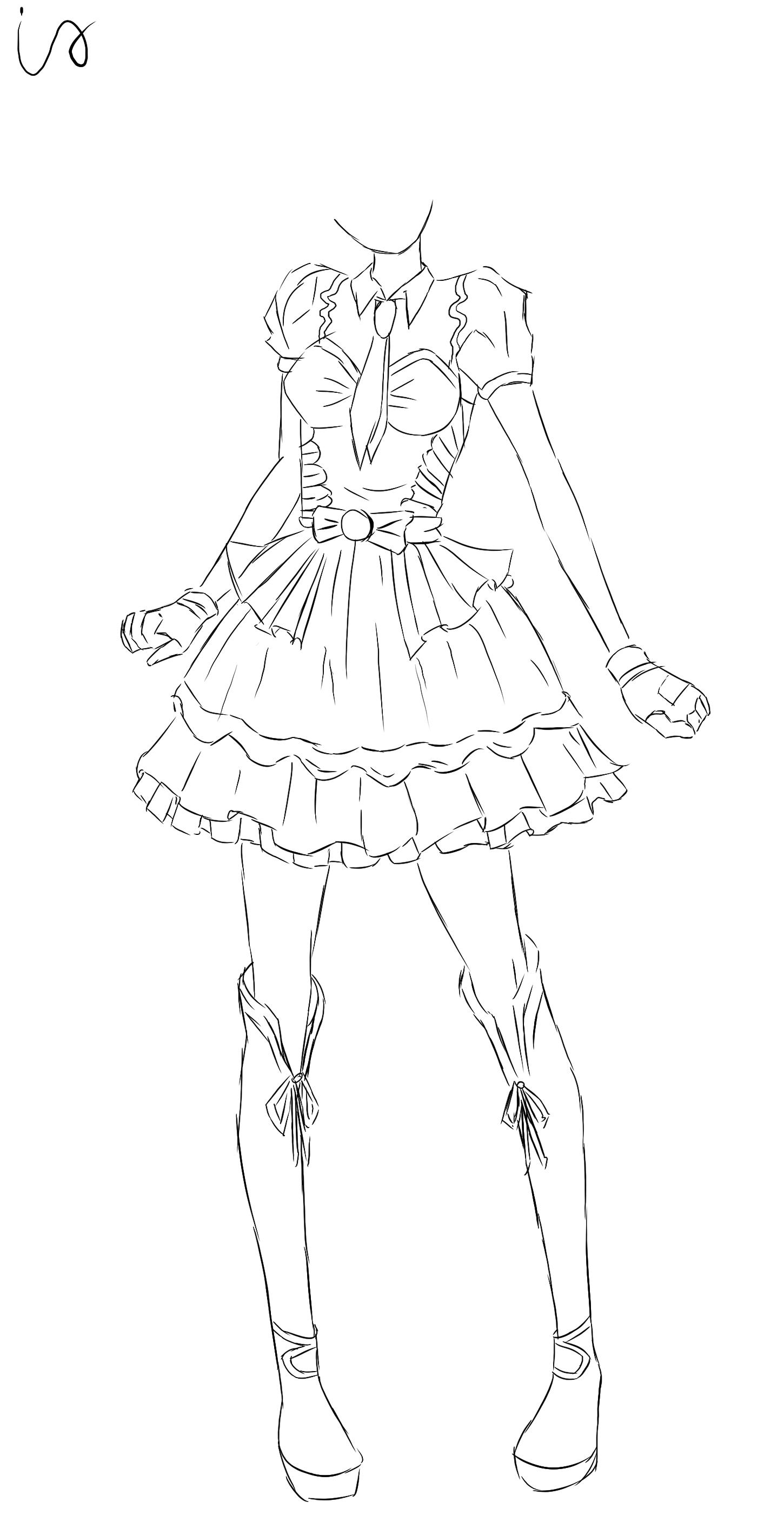 Oc aikatsu girl by bukatyan on deviantart for Sketch it online