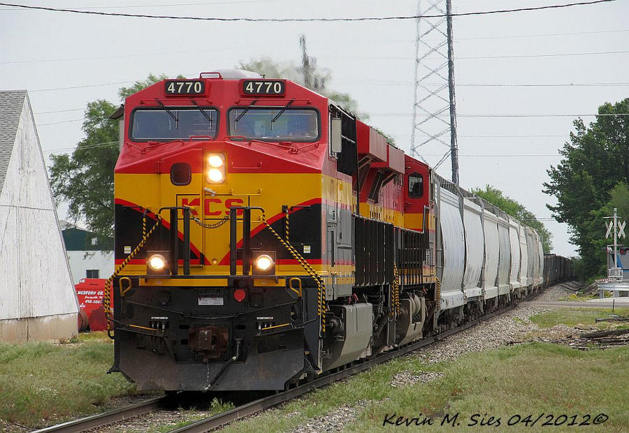 Brand New KCS 4770 and KCS 4682 lead KCS MVNKC 25 by EternalFlame1891
