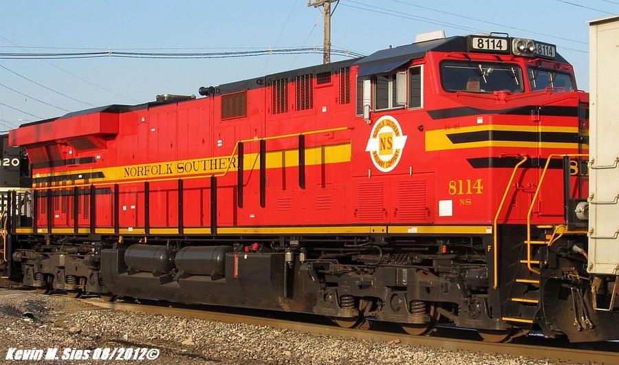 NS Original Heritage 8114 Train 31N Saint Louis MO by EternalFlame1891