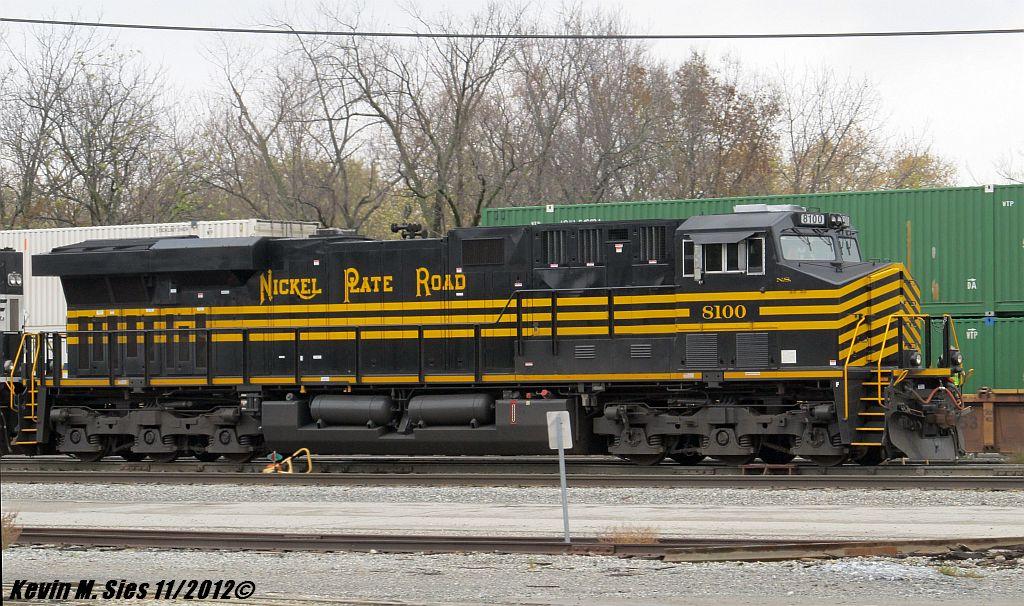 Nickel Plate Road heritage locomotive #8100 by EternalFlame1891