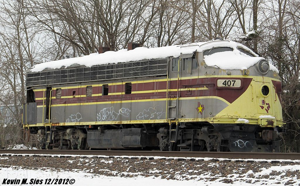 Texas Star F7A # 407 @ Mt Vernon IL by EternalFlame1891